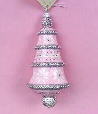 Nwt Patricia Breen 2015 Catz Exclusive Meilleurs Voeux Ornament, Pink
