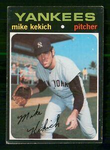 MIKE KEKICH 1971 TOPPS NO 703 VGEX  28631
