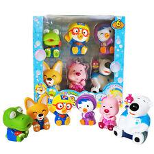 Pororo & Friends [Water Gun Bath Toy 6Pcs] Pororo+Crong+Loopy+Eddy+Petti+Poby
