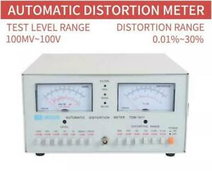TDM-1911 Automatic Distortion Meter 0.01% - 30% Audio Distortion Meter 110/220V
