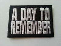 A Day To Remember Sew or Iron On Patch