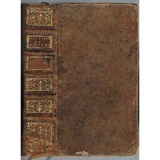HISTOIRE Universelle de DIODORE de SICILE par Abbé TERRASSON Éd. De BURE 1737 T1