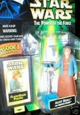 STAR WARS AUNT BERU FLASHBACK PHOTO FIGURE MINT ON CARD