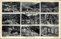 BAD BERTRICH Mosel alte Postkarte 1951 Mehrbild-AK mit 8 Echtfoto-Ansichten
