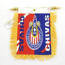"SOCCER ""CHIVAS"" FLAG MINI BANNER CAR WINDOW MIRROR"