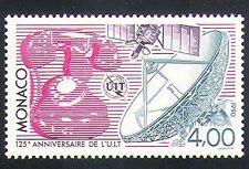 Mónaco 1990 ITU-UIT/comunicaciones/radio/Satélite/Teléfono/espacio 1v (n34768)
