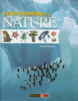 Livre l'encyclopédie de la nature David Burnie book