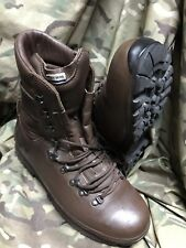 More details for brown altberg defender boots!genuine issue!excellent & loads of tread!size 10 m