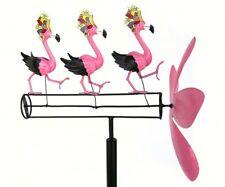 Dancing Flamingo Whirligig