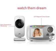 MOTOROLA MBP482 baby monitor video display e visione notturna a infrarossi per monitorare
