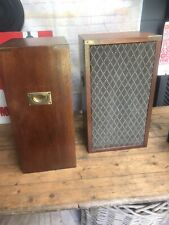 Vintage Dynatron ls 2928 Altavoces de estantería gabinetes de estilo de campaña