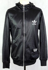 Adidas - Men's - Chile 62 Tracksuit Top - Zip Front Hoodie - Trefoil - Large