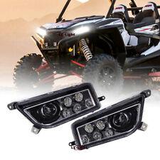 Pair DOT ATV LED Headlights High/Lo Beam for POLARIS RZR 900 S RZR XP 1000 TURBO