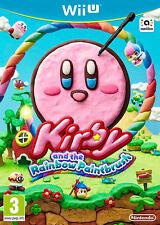 Kirby Y El Arco Iris Pincel Nintendo Wii U * Nuevo Sellado Pal *