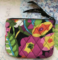 Vera Bradley Makeup Cosmetic Bag Zipper Case In Va Va Bloom 🌺🌸🌼Retired 🌼🌸🌺