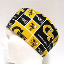 Georgia Tech Yellow Jackets Mens Scrub Hat, Chemo Hat, Surgical Cap