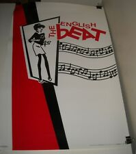 Rolled 2005 Scorpio Posters # 1231 The English Beat Art Pinup Poster 22 x 34