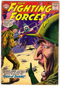 OUR FIGHTING FORCES #84 in VG condition 1964 DC WAR comic with Gunner & Sarge