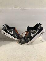 Nike Air Max Thea Print Womens 599408-007 Black Grey White Running Shoes Sz 10.5