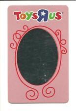 ToysRus Mirror Gift Card No $ Value Collectible Toys R Us