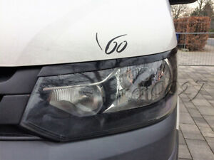 Fits VW T5 Facelift - Eye Brows Head Light Cover