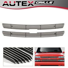 For 99-02 Silverado 1500/2000-06 Suburban/Tahoe Chrome Upper Billet Grille Grill