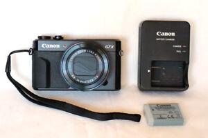 CANON PowerShot G7 X MARK II  20.1MP DIGITAL CAMERA. EXCELLENT CONDITION