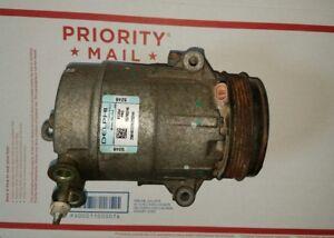 07 08 09 10 PONTIAC G6 A/C AC COMPRESSOR 4 CYLINDER WILL FIT CHEVY MALIBU COBALT