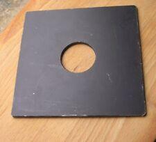 Devere Devon etc Monorail fit metal Lens board 39mm hole for copal compur 1