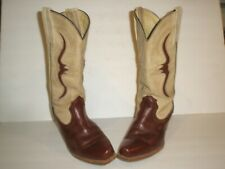 WOMENS FRYE LEATHER WESTERN COWBOY BOOTS SIZE 8