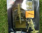CHBR19 Mortar Metal Howitzer Battlefield Weapon Figure Model BB Bomb Launch 1:8