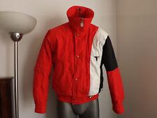 Tyrolia Men Vintage Red Jacket Ski Snow Winter Size S