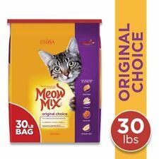 New listing Meow Mix Original Choice Dry Cat Food, 30 Pounds