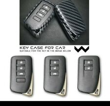 Lexus Key Fob Cover/Carbon Tpu/Silicon Case/UK SELLER/IN STOCK