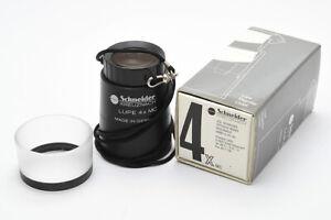Schneider Kreuznach Lupe 4x MC