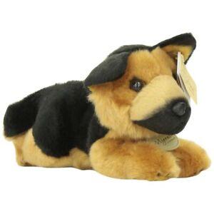 "8"" German Shepherd - Small Aurora Miyoni Plush Stuffed Animal Toy Cute Dog Puppy"