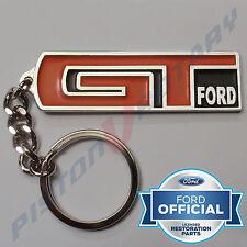 GT FORD KEYRING KEY CHAIN like badge Chrome for FORD XY XW XA XB XC 351 GTFORD