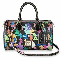 Disney Parks Dooney And Bourke Wonder Mickey Mouse 10th Anniversary Satchel NEW