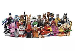 LEGO 71017 BATMAN MOVIE Series 1 Minifigures (Complete Set )