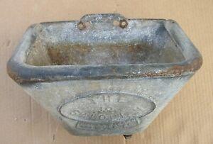 Vintage Cattle Water Bowl Trough Planter Bird Bath