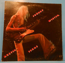 "JOHNNY WINTER AUSTIN, TEXAS VINYL LP RE ""PROGRESSIVE BLUES EXPERIMENT"" VG/VG!!"