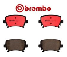 Rear Disc Brake Pads Ceramic Clips Brembo For VW Tiguan Audi A3 A4 A6 Quattro