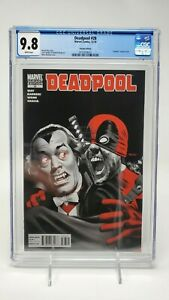 Deadpool #28 1:15 Mike Mayhew Vampire Variant CGC 9.8 Marvel 12/10