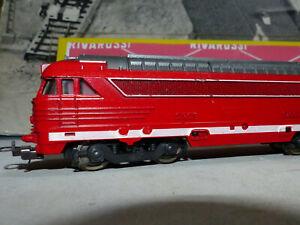 LIMA -Loco Diesel SNCF 67000 -ROSSO-Ultima produzione anni 80 e 90 -OTTIMO-