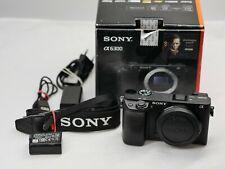 Sony Alpha A6300 24.2MP Digitalkamera - 4K Schwarz (Nur Gehäuse) in OVP