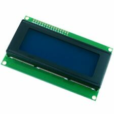 Blue 20x4 LCD Display Module 2004A Arduino Raspberry Pi