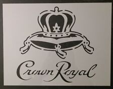 "Crown Royal 11"" x 8.5"" Custom Stencil FAST FREE SHIPPING"