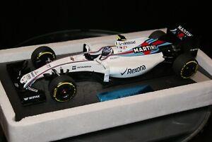 1:18 Minichamps Williams FW38 Valtteri Bottas 2016
