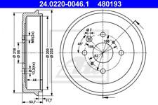 2x Bremstrommel für Bremsanlage Hinterachse ATE 24.0220-0046.1