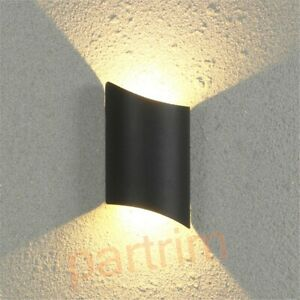 Aluminum Led Wall Lamp Luminous For Bedside Sconces Indoor Lighting Fixture 10W